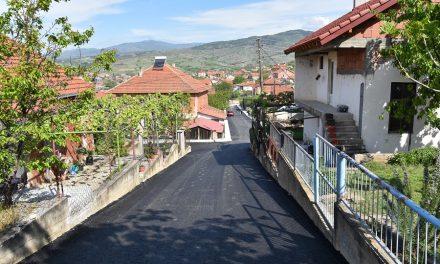 Асфалтирани пет улици во Оризари и Тркање