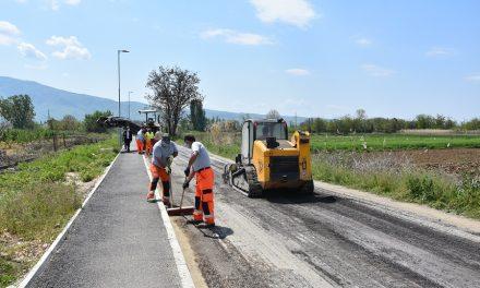 Почнува асфалтирањето на патот Кочани – Мојанци