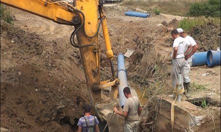 Дефект на главниот цевковод од системот за водоснабдување во Кочани