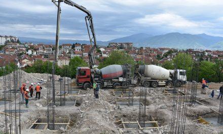 Се гради новата детска градинка во Кочани