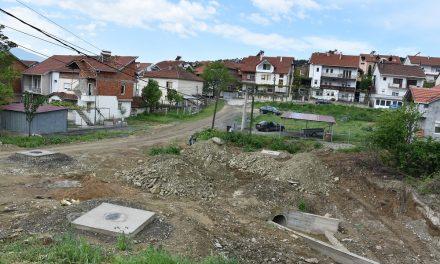 """Се гради фекална и атмосферска канализација на улицата """"Кирил и Методи"""""""