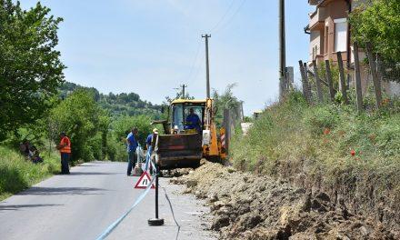 Замена на дел од главната водоводна линија за селото Бели