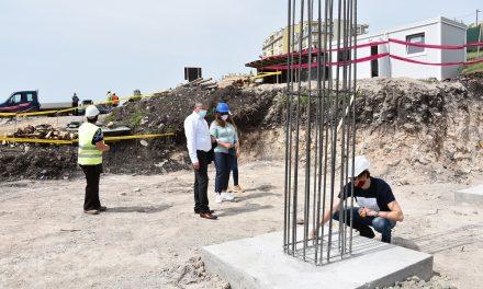 Увид во изградбата на новата детска градинка во Кочани