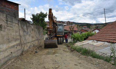 """Реконструкција на два крака на улица """"Стамен Манов"""""""