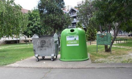 Поставени контејнери за стакло на неколку локации во Кочани