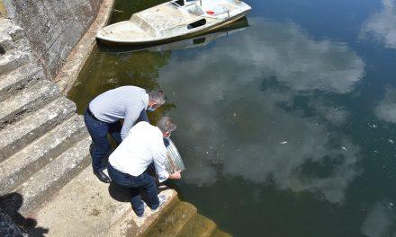 Поддршка од Општина Кочани за порибување на езерото Гратче