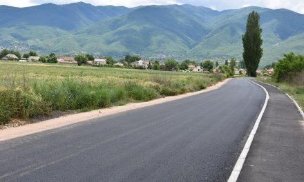 Реконструкцијата на патот од Кочани до Мојанци е целосно завршена – претстои негово осветлување