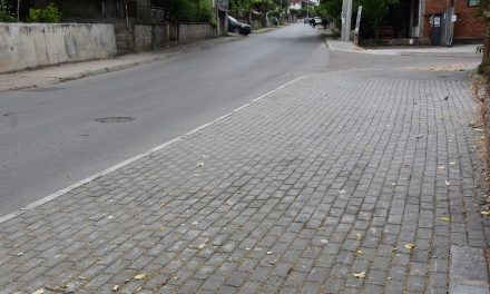 """Заврши уредувањето на тротоарите на улиците """"Маршал Тито"""" и """"Страшо Ербапче"""""""