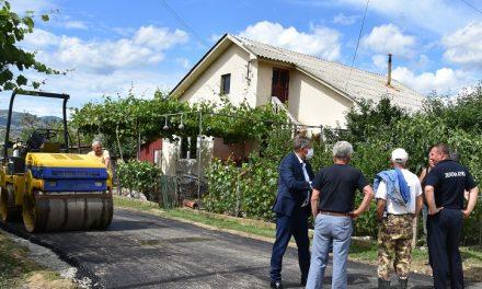 Во завршна фаза е изградбата на улици во пет населени места во Кочанско
