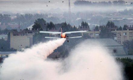 На 4 јуни 2020 година –  прво авиотретирање против комарци