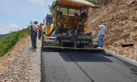 Се асфалтира локалниот пат Крушка – Ајдар