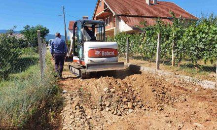 Продолжува бетонирањето на пристапни патишта и улици