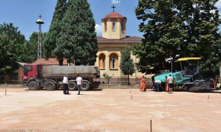 Се асфалтира повеќенаменското игралиште во Грдовци