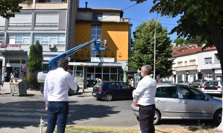 15. АКТО фестивал за современи уметности: Кочани доби мурал со порака за солидарност