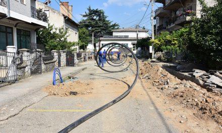 """Пред реконструкцијата – улицата """"Плачковица"""" добива нова водоводна мрежа"""