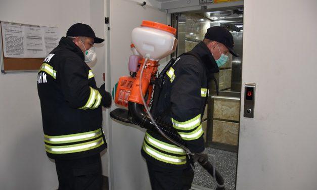 Пријавување за дезинфекција во поплавените домови во Кочанско