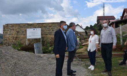 Проектите за развој на туризмот претставени пред Царовска и Бертолини