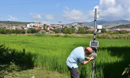 Кочани ја доби првата агрометеоролошка станица во регионот