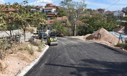 """Се асфалтира улицата """"Крум Вранински"""""""