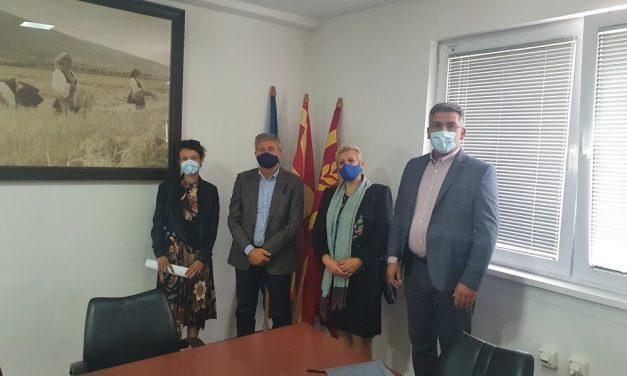 Средба на градоначалникот Николчо Илијев со претставници од Националната коалиција за животна средина