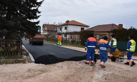 Асфалтирани улици во селата Горни Подлог и Оризари