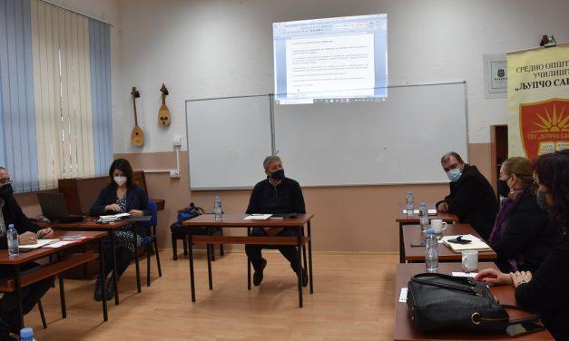 Анализа на состојбите и предизвиците во второто полугодие од учебната 2020/21 година – работна средба на директорите на кочанските училишта со градоначалникот Илијев