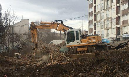"""Се создаваат услови за подготвителни градежни активности за втората коловозна лента на улицата """"Стево Теодосиевски"""""""