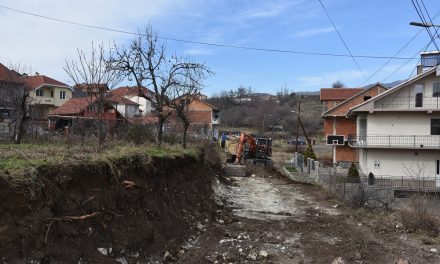 """Подготовки за асфалтирање на улицата """"Борис Ефремов"""""""
