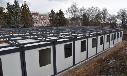 Се поставува модуларната ковид-болница во Кочани
