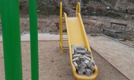 Дивјаштво врз детското игралиште во населбатa Драчевик