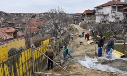 Пролетва ќе се асфалтираат уште четири улици во населбата Усова Чешма