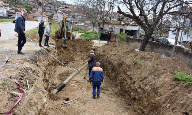 Почна рехабилитацијата на канализациската мрежа во Оризари – се работи на атмосферско одводнување на Кочански Дол