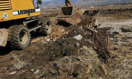 Општина Кочани ја подобрува патната земјоделска инфраструктура