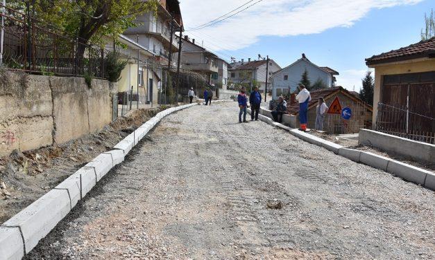 """Во напредна фаза е изградбата на крак од улицата """"Искра"""" во Кочани"""