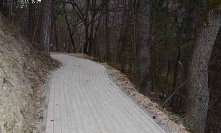 Изградена е пешачката патека покрај браната Гратче