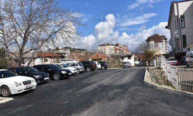 Заврши асфалтирањето на Станбената улица во централното градско подрачје