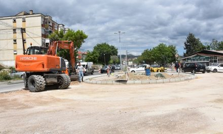В сабота, 22 мај 2021 г. ќе се асфалтира кружниот тек кај Шумското стопанство
