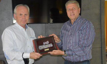 Работна средба на градоначалникот Илијев со словенечкиот амбасадор Предан
