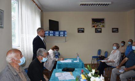 Градоначалникот Илијев на средба со кочанските пензионери