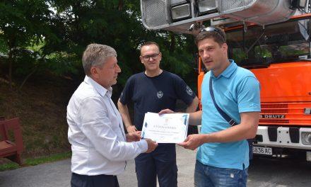 Пожарникари од Крањ во работна посета на ТППЕ – Кочани