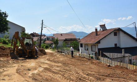 Се градат четири улици во населбата Усова Чешма