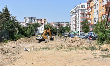 Во тек се градежни активности на неколку локации во Кочани