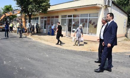 """Министерот Бочварски во работна посета на Кочани: Инвестираме во модерно булеварско решение на """"Тодосија Паунов"""""""
