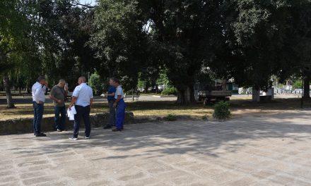 Почна реконструкцијата на Градскиот парк во Кочани
