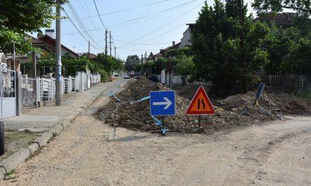"""Нова водоводна линија на улицата """"Гошо Викентиев"""""""