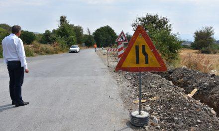 Tротоарско поврзување од Кочани до селото Бели