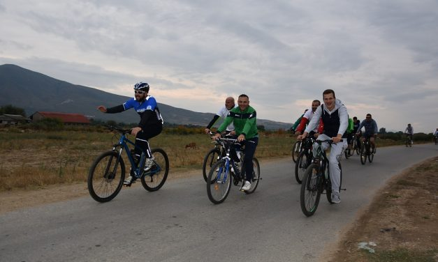 """На Меѓународниот ден без автомобили се одржа втората велосипедска тура """"По патеката на оризот"""""""