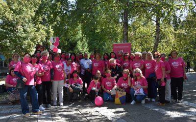 Розова прошетка во Кочани за поддршка на болните од рак на дојка