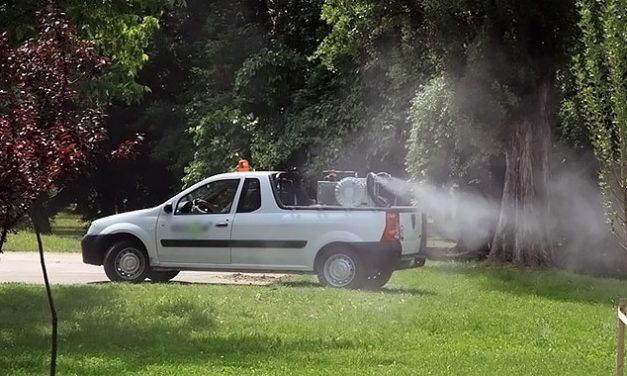 На 7 и 8 септември – шесто прскање против комарци во Кочанско
